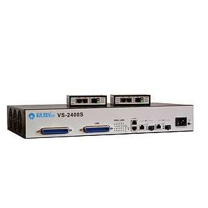 VDSL2 24-Port Switch/DSLAM VS-2400S Bundle inkl. 24 Modems