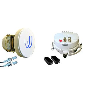 Microwave 7 bis 38 GHz Outdoor Richtfunk Kit 400 Mbit/s