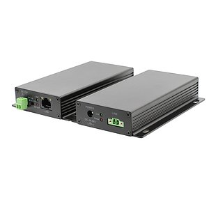 Ethernet Extender PoE point-to-point über 2-Draht